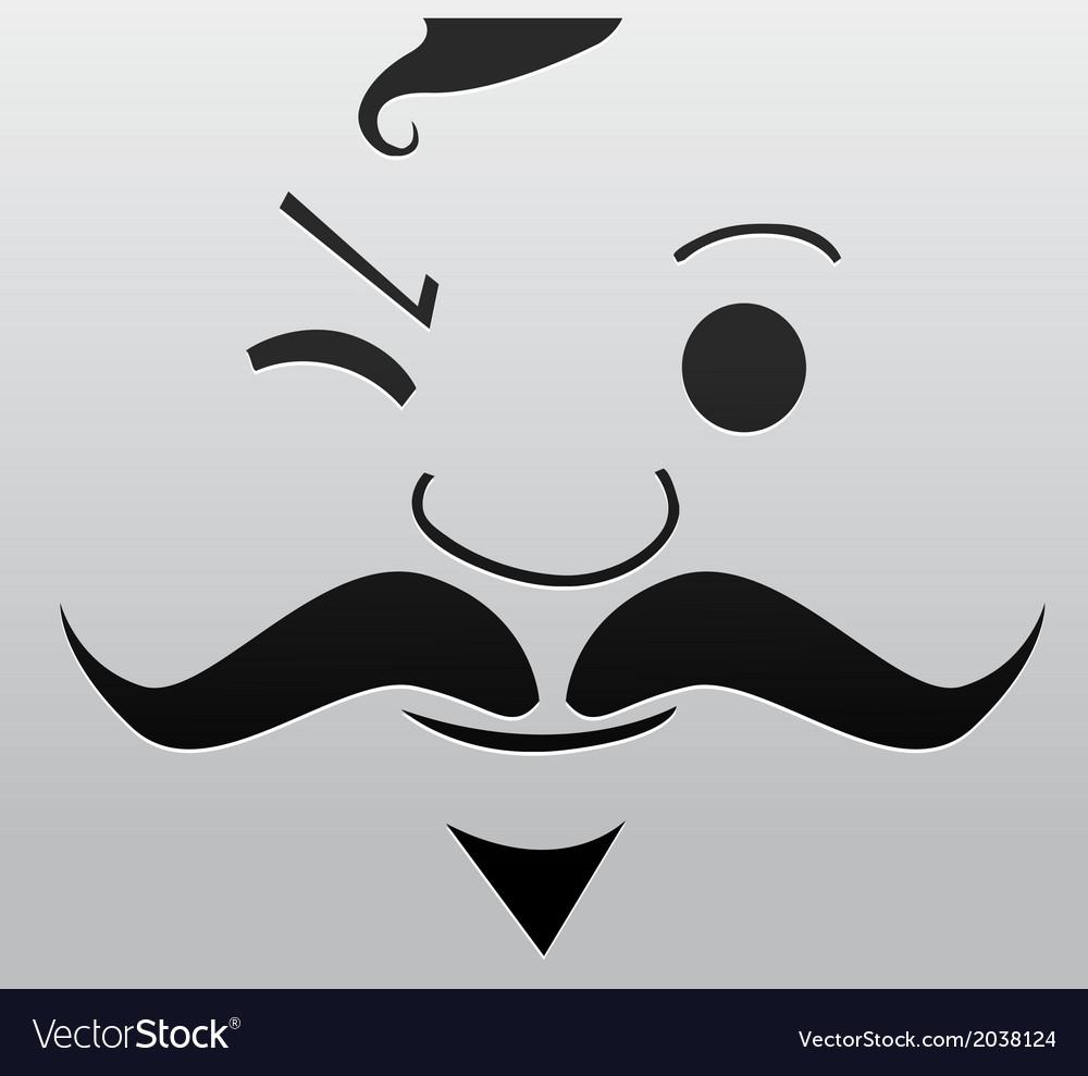Cartoon face vector   Price: 1 Credit (USD $1)