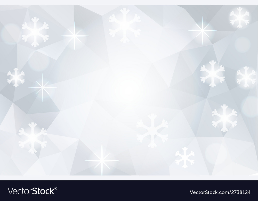 Christmas abstract polygonal cosmic background vector | Price: 1 Credit (USD $1)