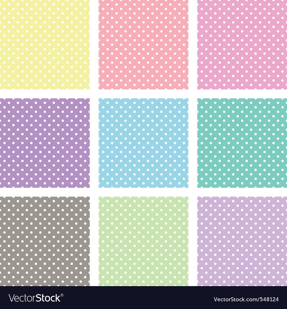 Polka dot background vector | Price: 1 Credit (USD $1)