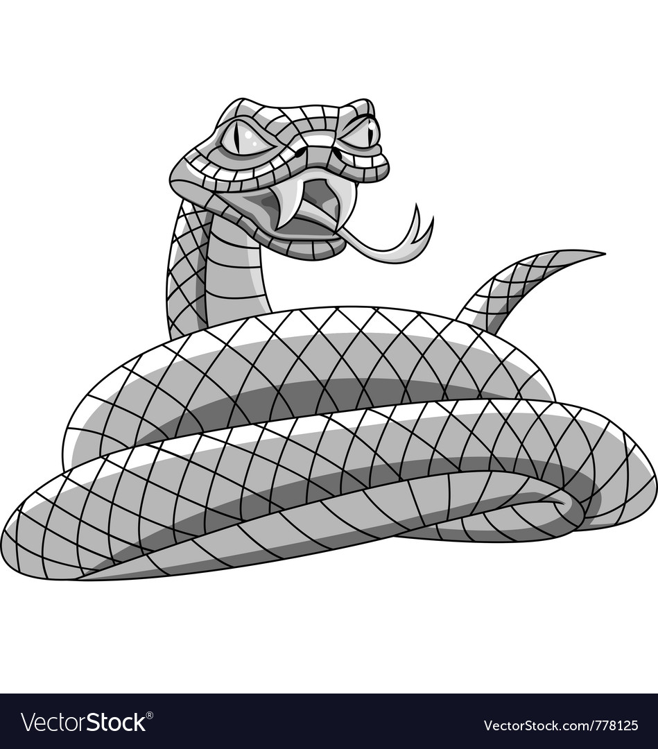 Angry snake vector | Price: 1 Credit (USD $1)