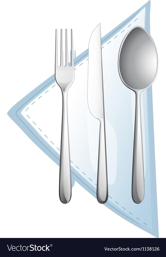 A cutlery vector | Price: 1 Credit (USD $1)