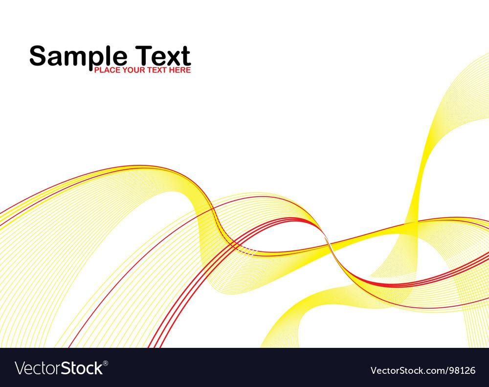 Wavy background vector | Price: 1 Credit (USD $1)