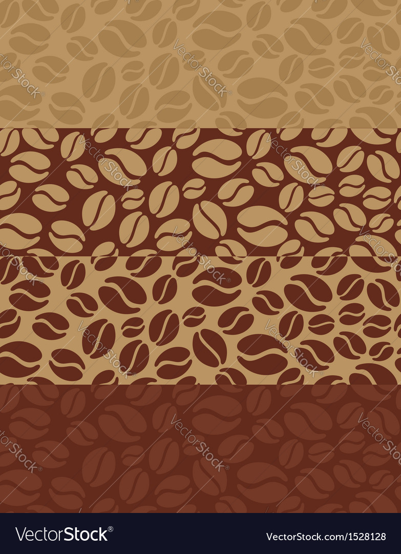 Coffee beans poster vector | Price: 1 Credit (USD $1)
