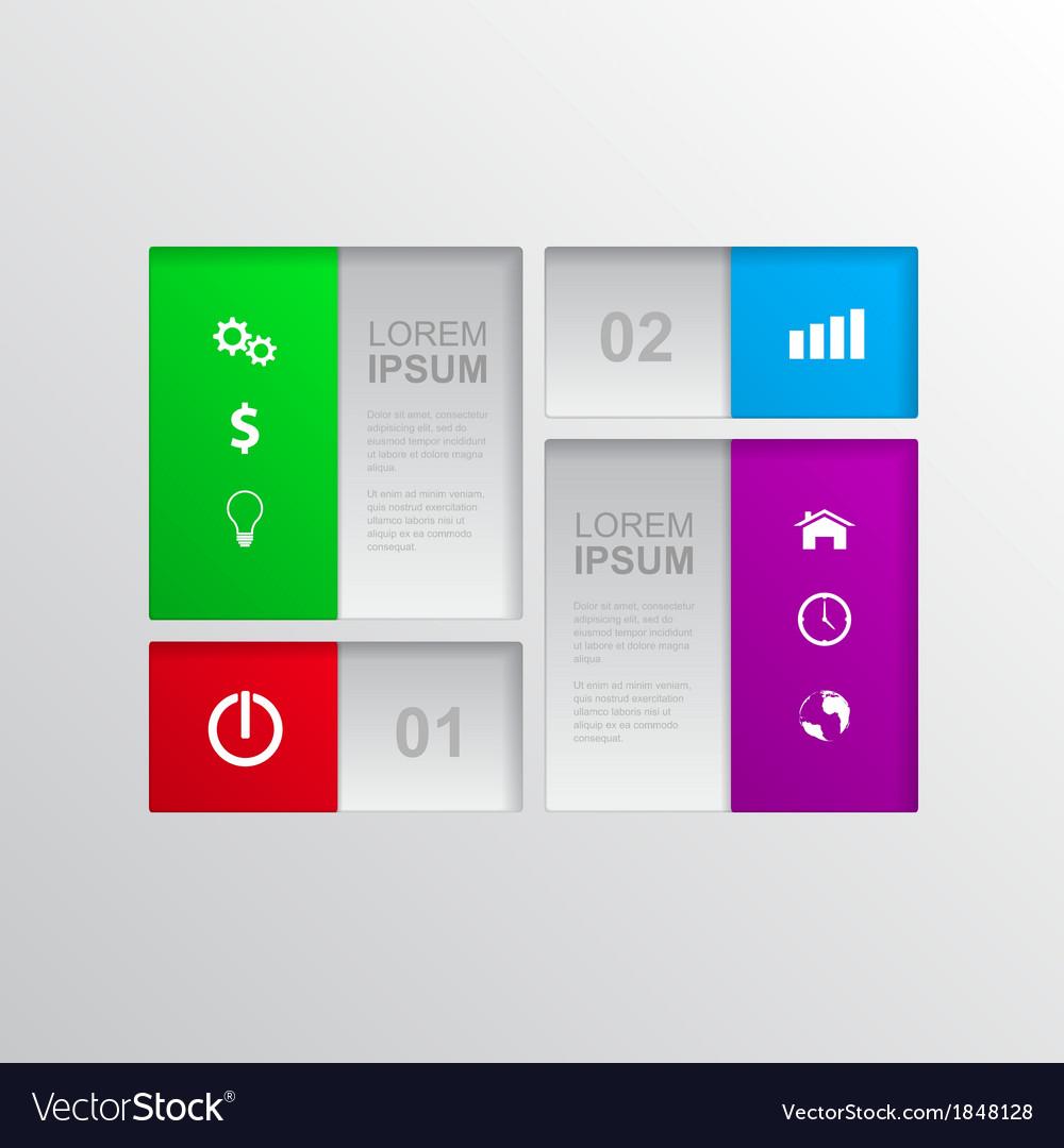 Infographic 2 vector | Price: 1 Credit (USD $1)