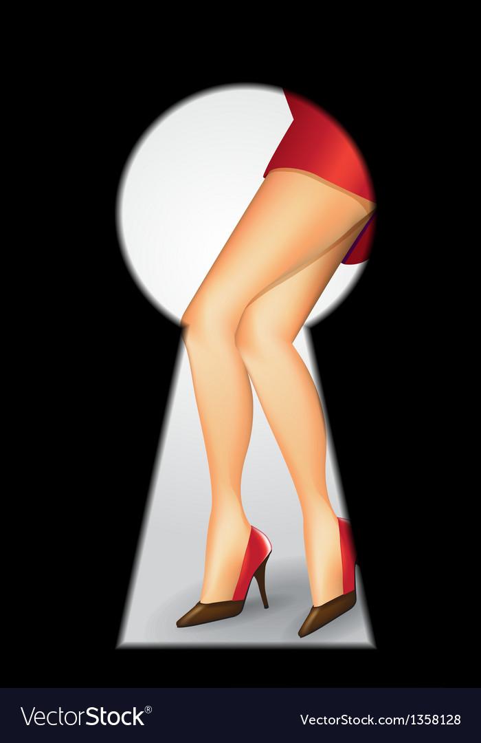 Woman legs vector | Price: 1 Credit (USD $1)