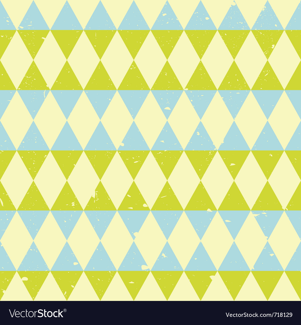 Retro triangle pattern vector | Price: 1 Credit (USD $1)