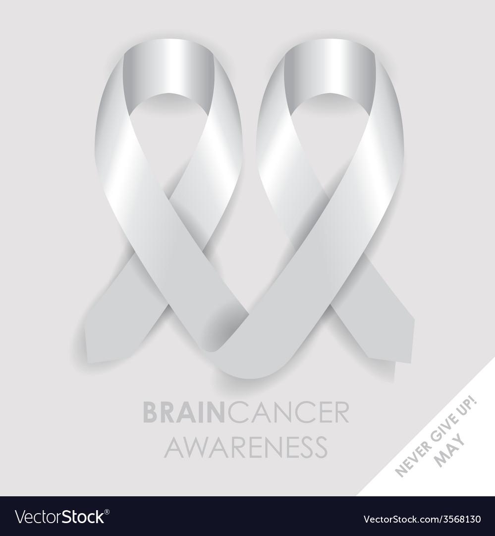 Brain cancer ribbon vector | Price: 1 Credit (USD $1)