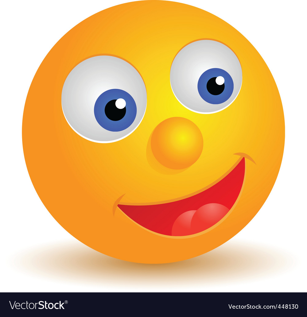 Smiley icon vector | Price: 1 Credit (USD $1)