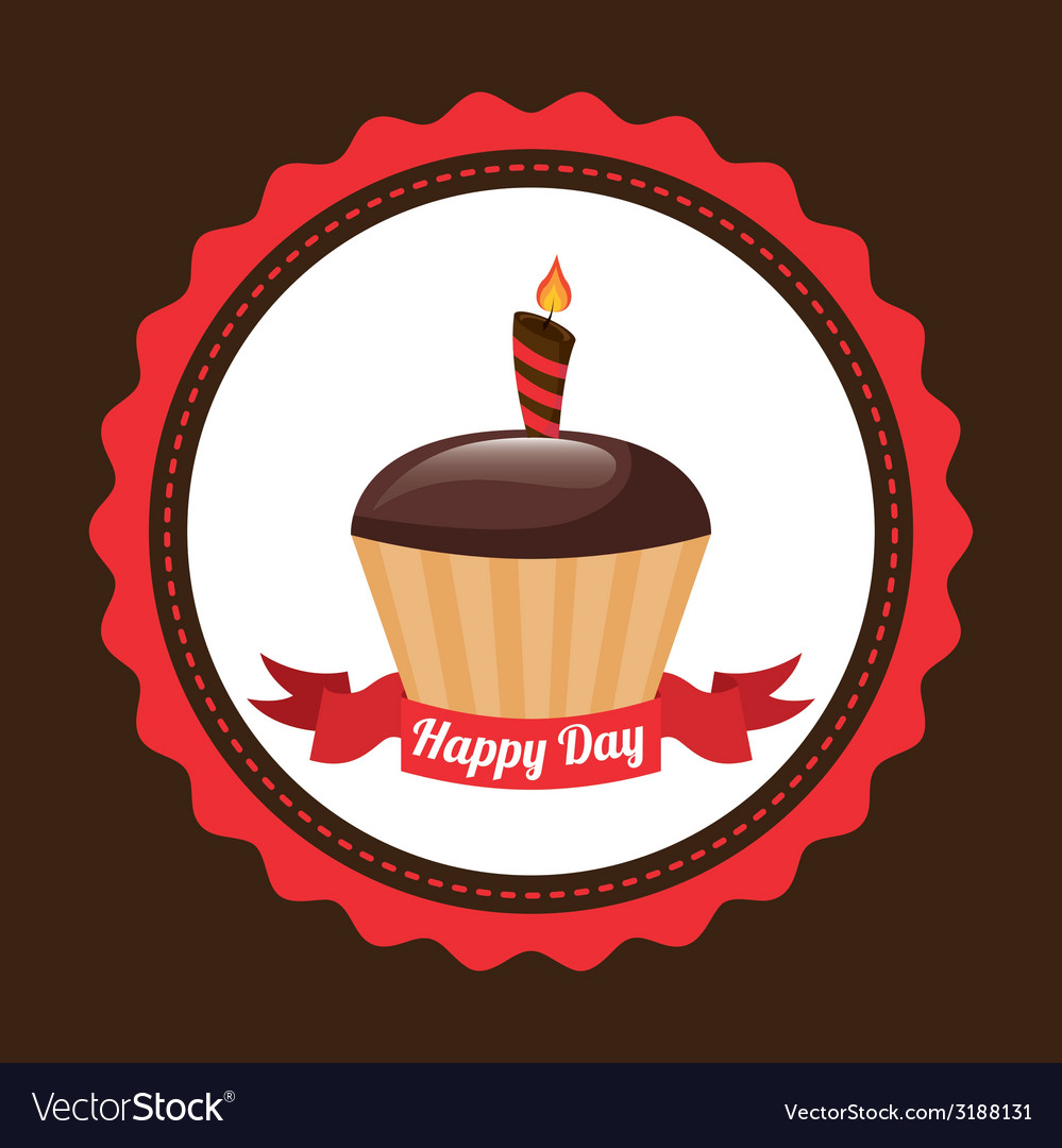 Cupcake design vector | Price: 1 Credit (USD $1)