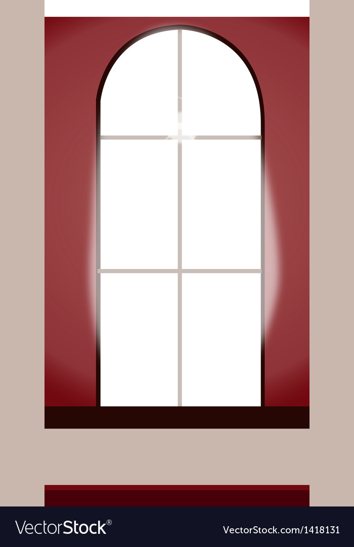 Window interior vector | Price: 1 Credit (USD $1)