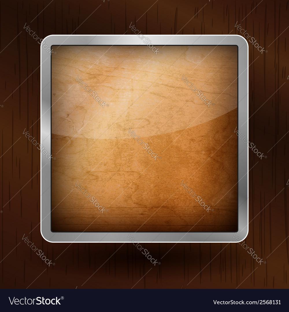 Wooden icon vector   Price: 1 Credit (USD $1)