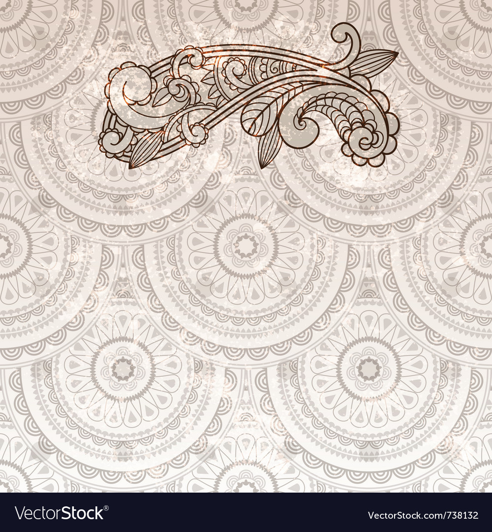 Paisley element vector | Price: 1 Credit (USD $1)