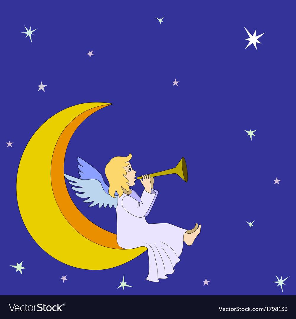 Christmas fairy angel vector   Price: 1 Credit (USD $1)