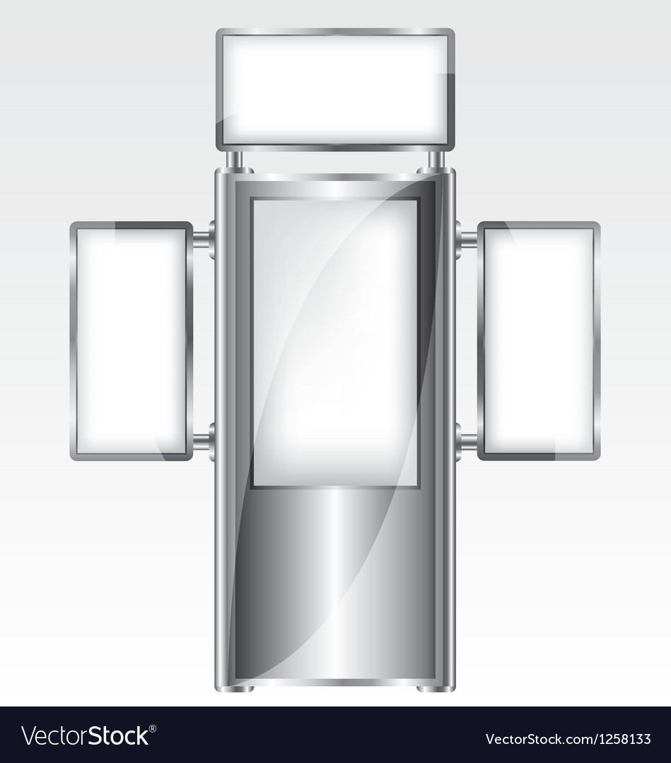 Trade exhibition metal stand vector   Price: 1 Credit (USD $1)