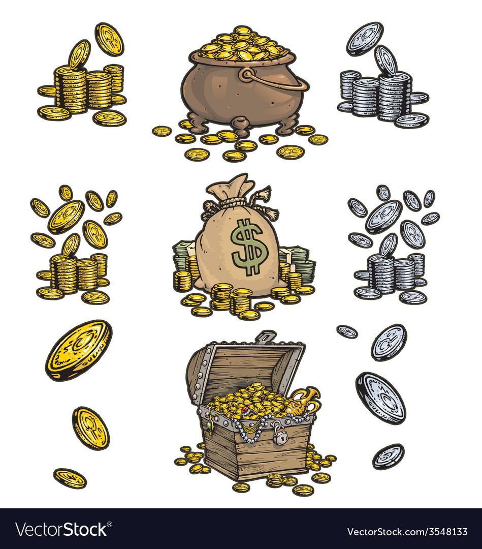 Treasure chest vector | Price: 1 Credit (USD $1)