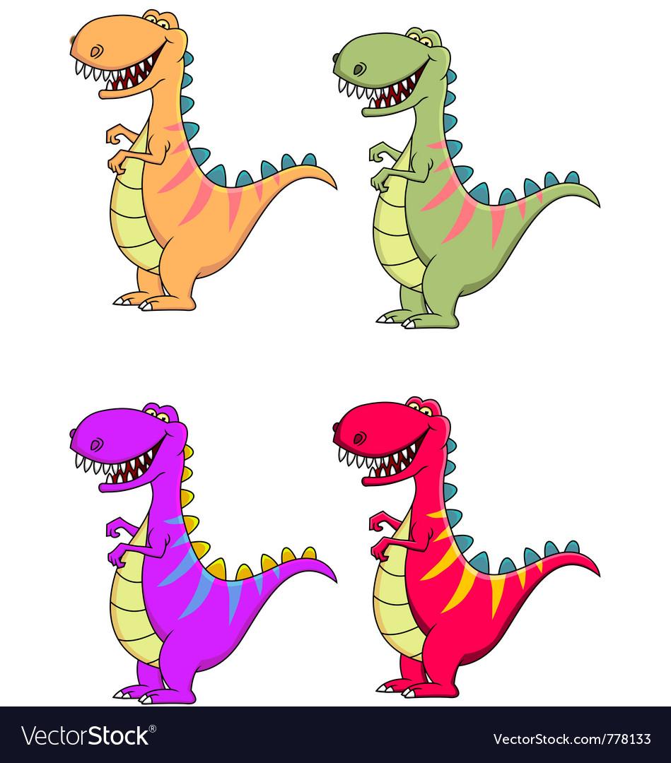 Tyrannosaurus dinosaur vector | Price: 1 Credit (USD $1)