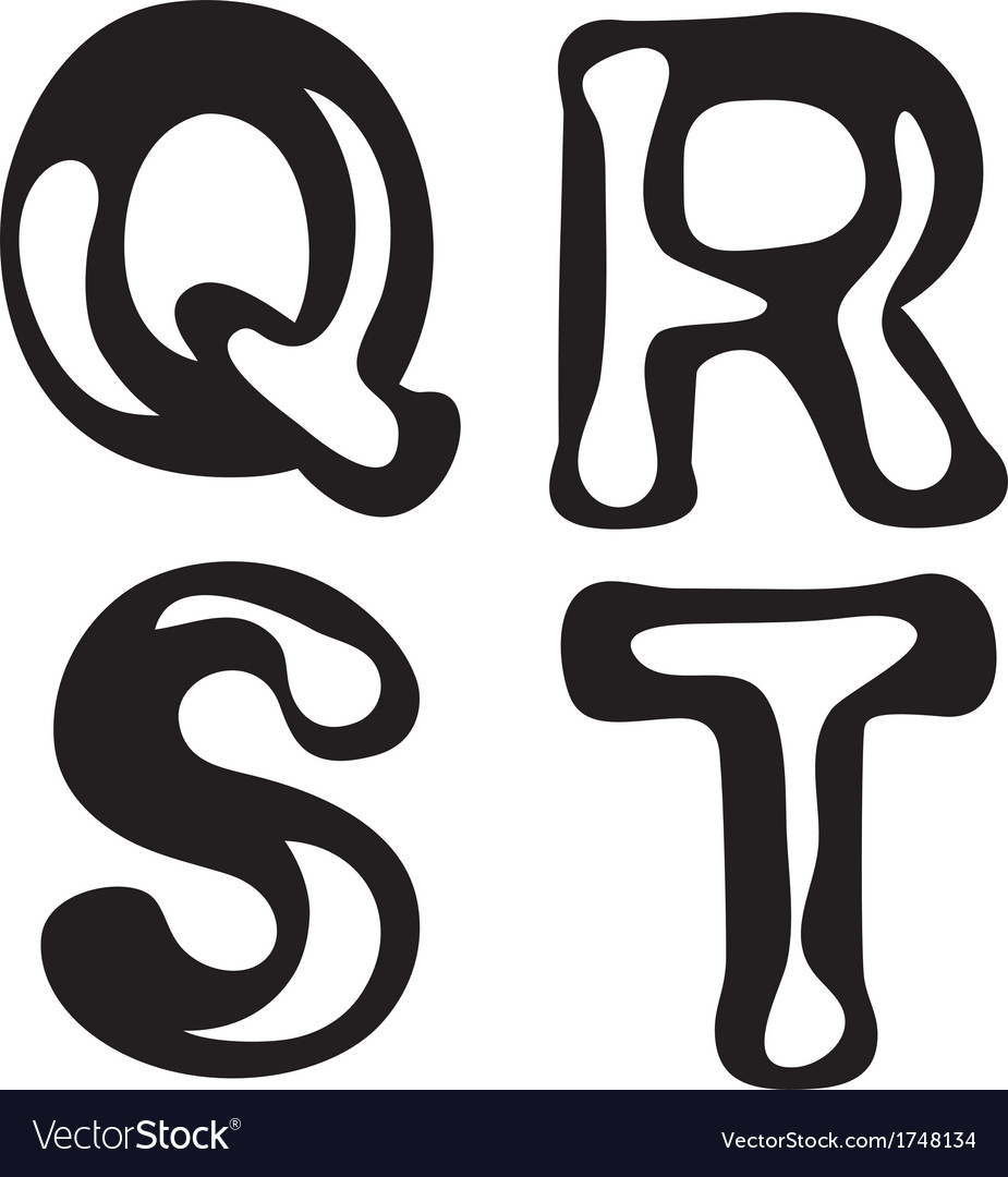 Abstract alphabet vector   Price: 1 Credit (USD $1)