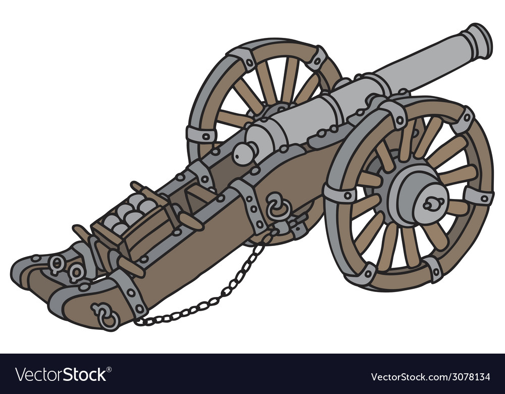Cannon vector | Price: 1 Credit (USD $1)