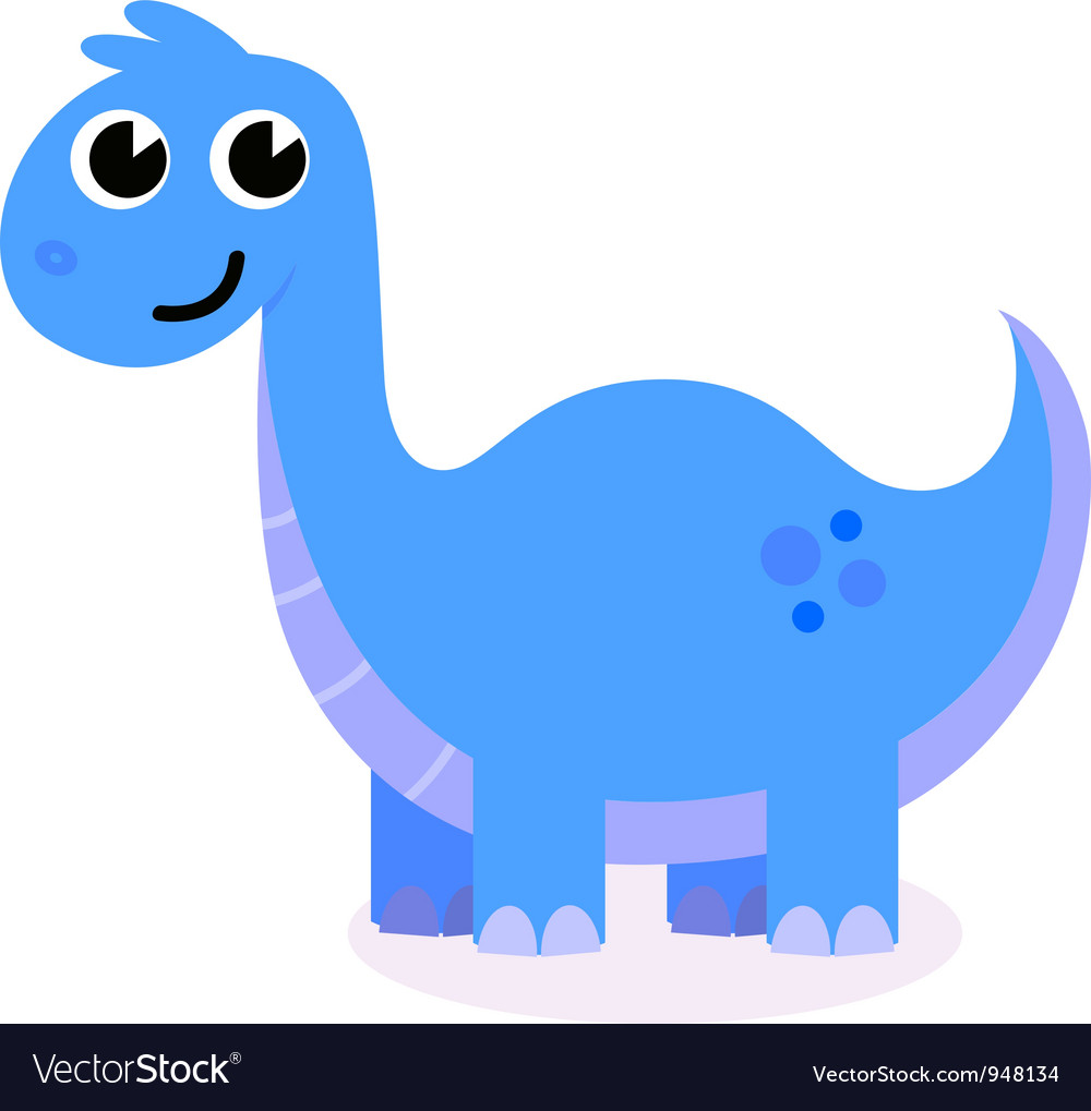 Cute dinosaur vector | Price: 1 Credit (USD $1)