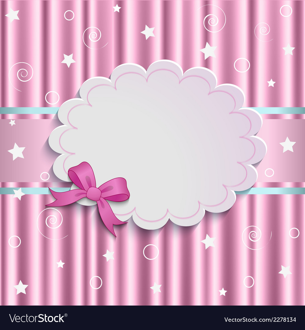 Gentle pink background vector | Price: 1 Credit (USD $1)