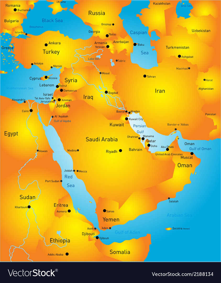 Middle east vector   Price: 1 Credit (USD $1)