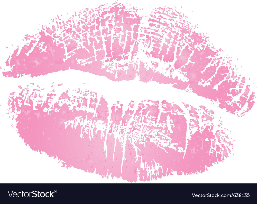 Kiss vector | Price: 1 Credit (USD $1)