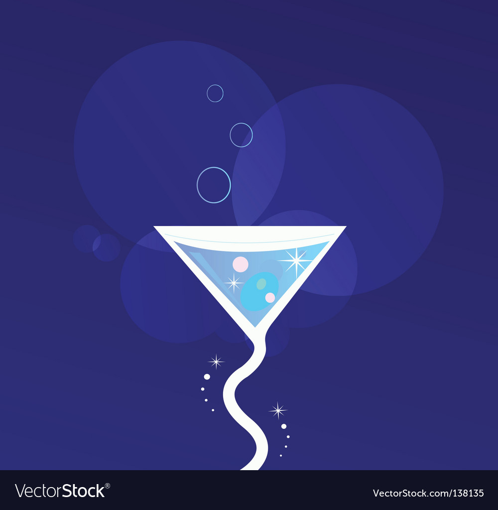 Party cocktail vector | Price: 1 Credit (USD $1)