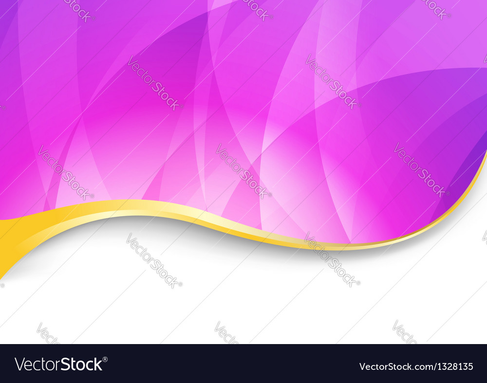 Purple flare - abstract wavy background vector | Price: 1 Credit (USD $1)