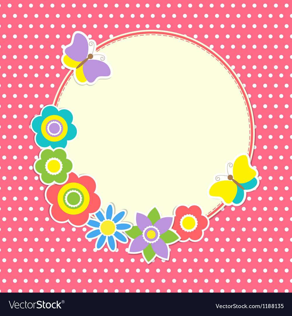 Round frame vector | Price: 1 Credit (USD $1)