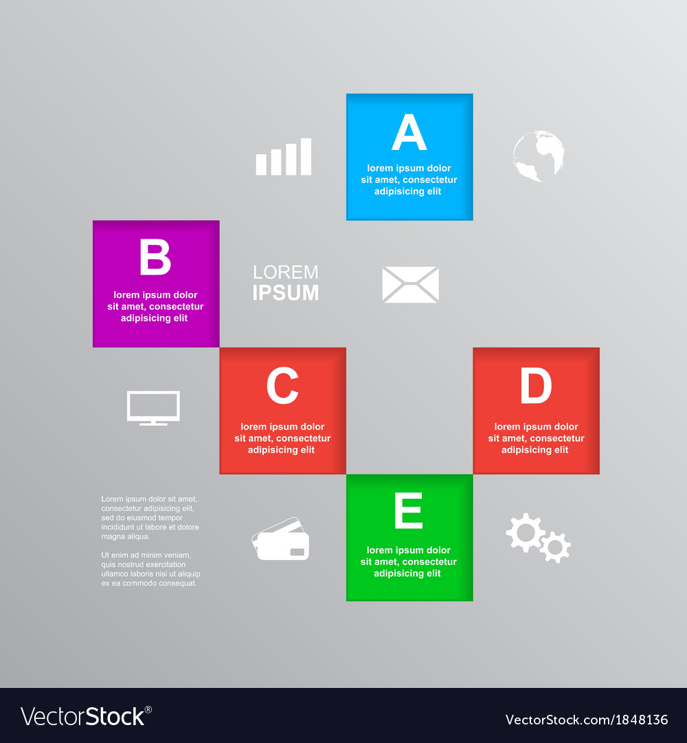 Infographic template 2 vector | Price: 1 Credit (USD $1)
