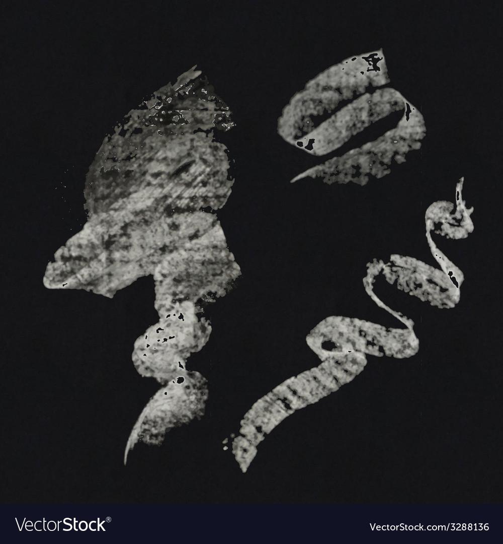 Set of chalk strokes vector | Price: 1 Credit (USD $1)
