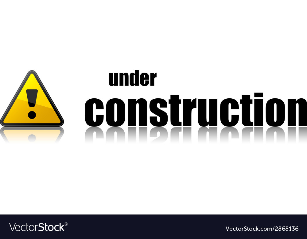 Under construction template vector | Price: 1 Credit (USD $1)