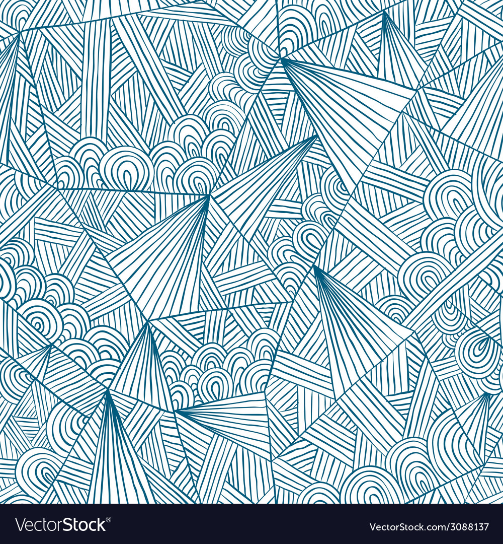 Doddle seamless pattern vector | Price: 1 Credit (USD $1)
