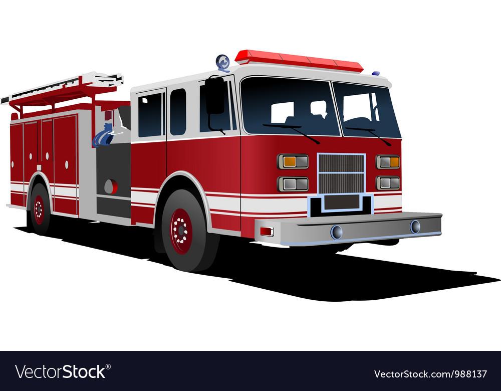 Firetruck vector