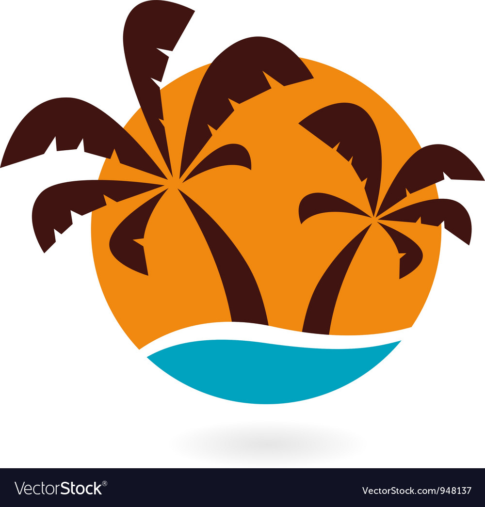 Palms icon vector | Price: 1 Credit (USD $1)