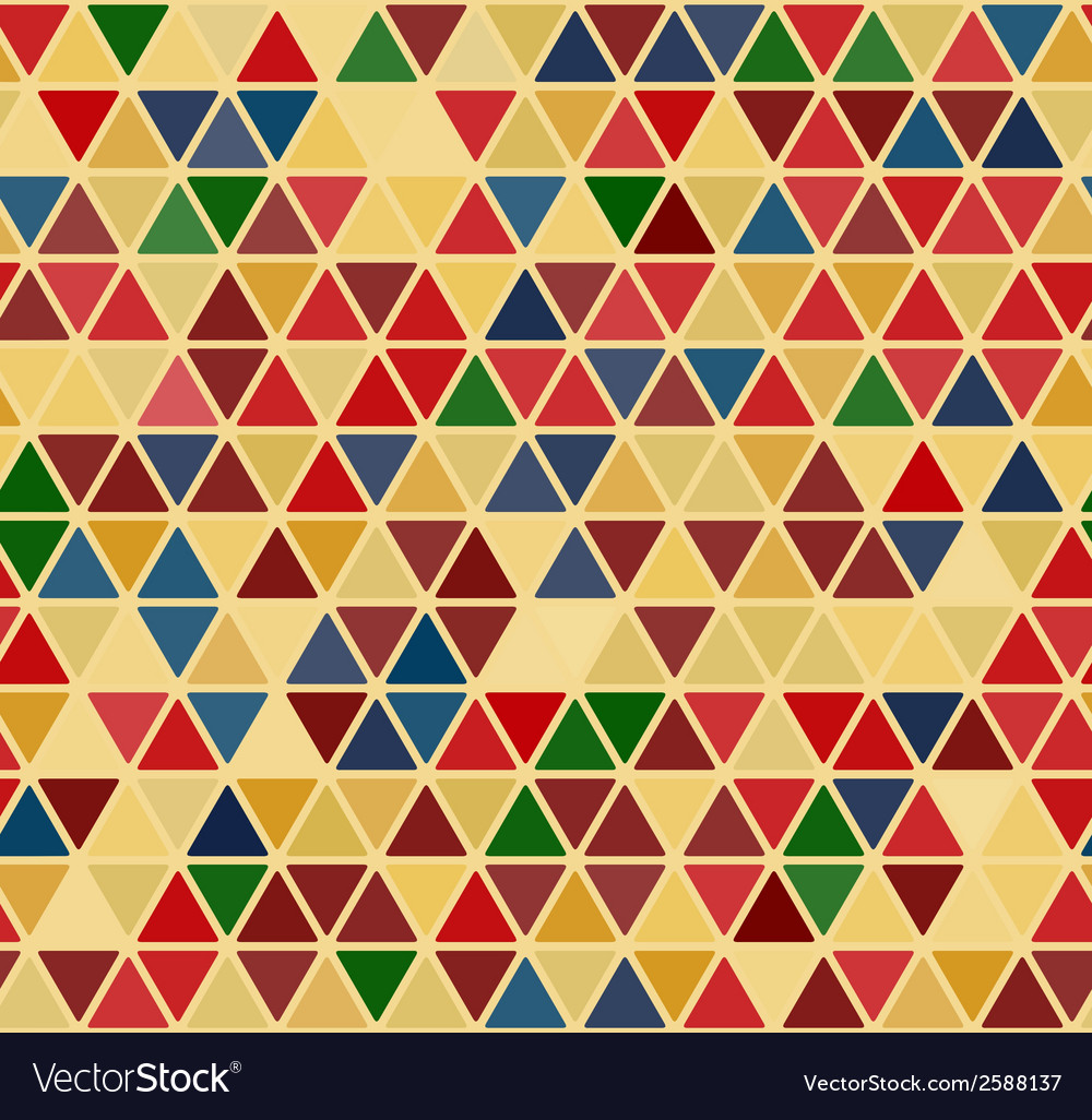 Seamless retro abstract pattern vector | Price: 1 Credit (USD $1)