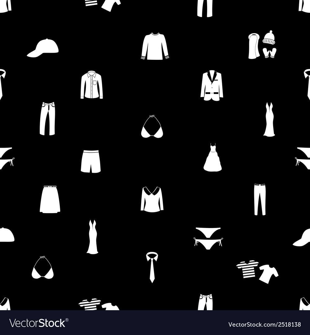 Clothing seamless pattern eps10 vector | Price: 1 Credit (USD $1)