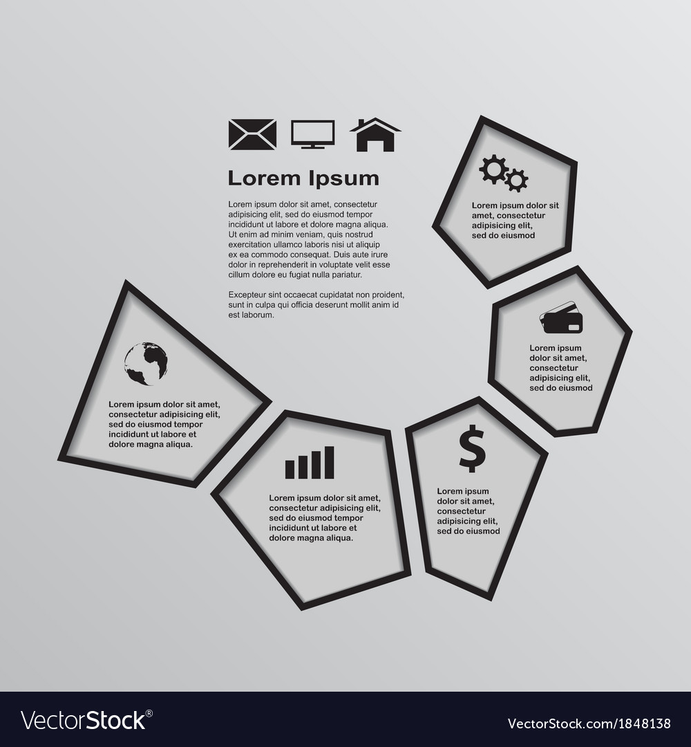 Infographic template 3 vector | Price: 1 Credit (USD $1)