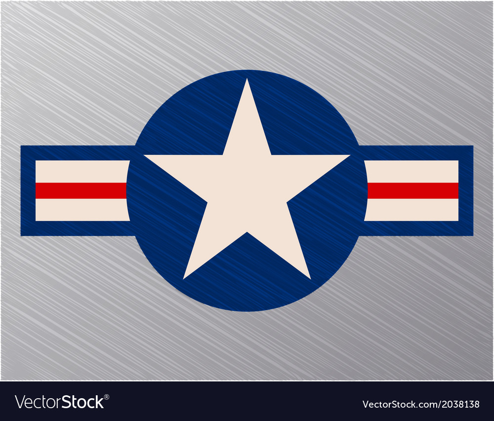 Us air force sign vector | Price: 1 Credit (USD $1)