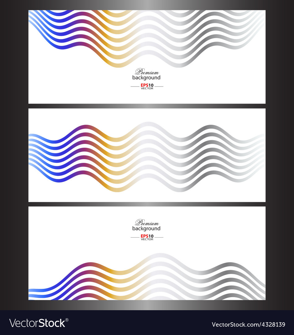 Abstract technology banner templates vector | Price: 1 Credit (USD $1)