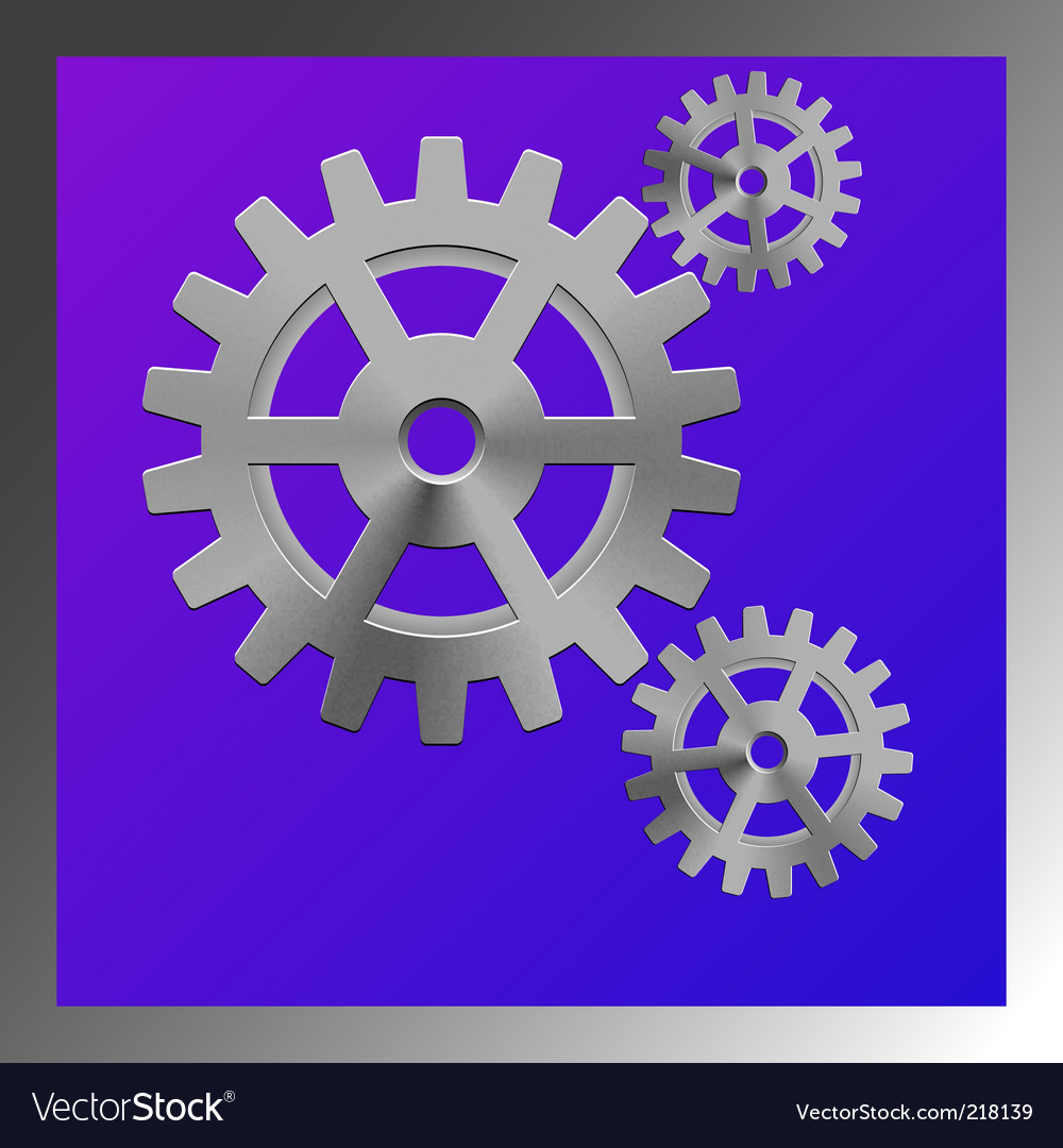 Gear box composition vector | Price: 1 Credit (USD $1)