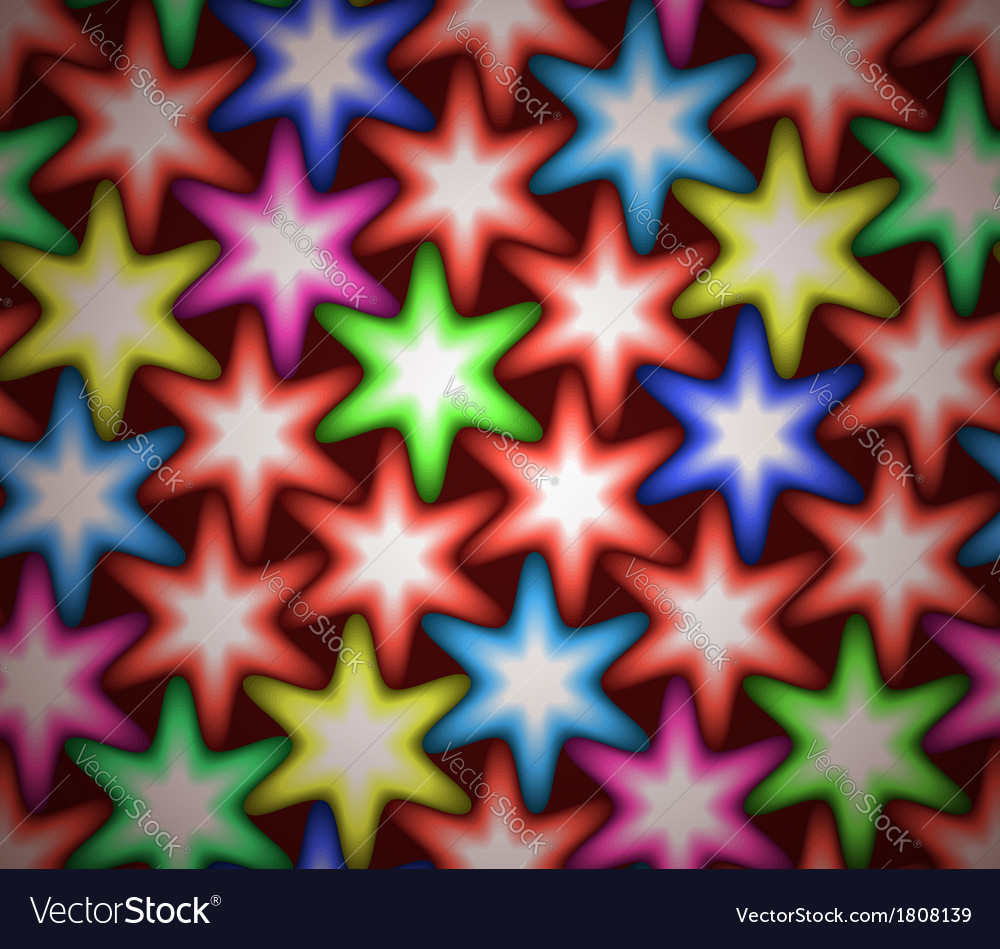 Stars pattern vector | Price: 1 Credit (USD $1)