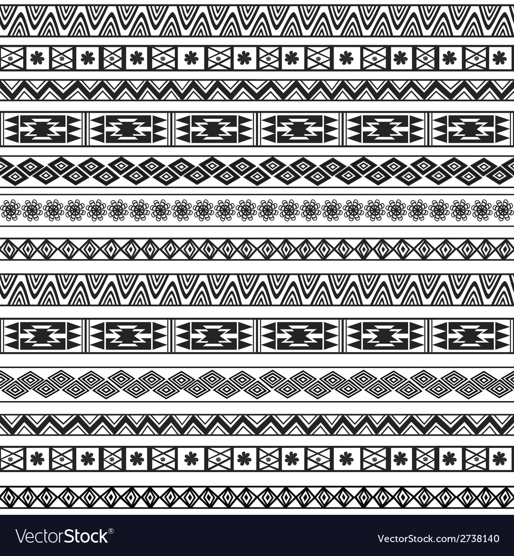 Abstract ethnic seamless geometric pattern vector   Price: 1 Credit (USD $1)