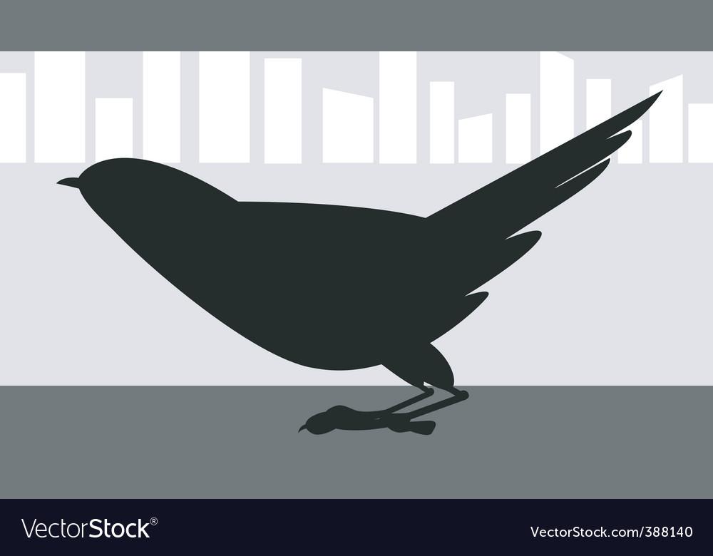 Crow vector   Price: 1 Credit (USD $1)