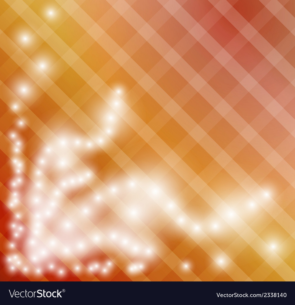 Gradient background with squares and shining stars vector | Price: 1 Credit (USD $1)