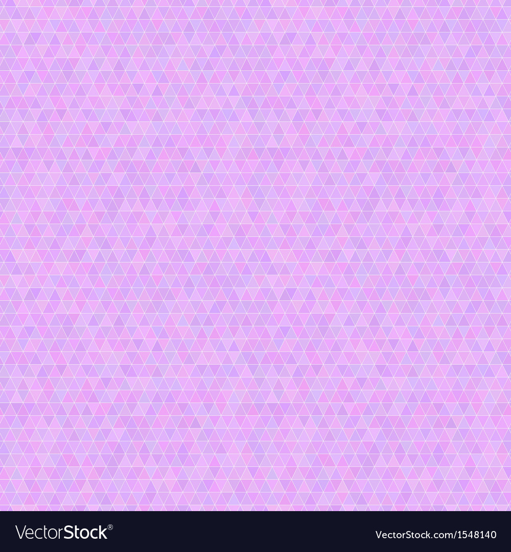 Lilac triangles seamless pattern vector | Price: 1 Credit (USD $1)