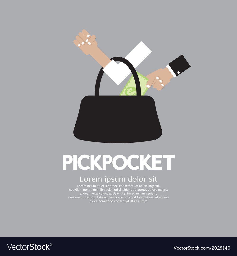 Pickpocket vector
