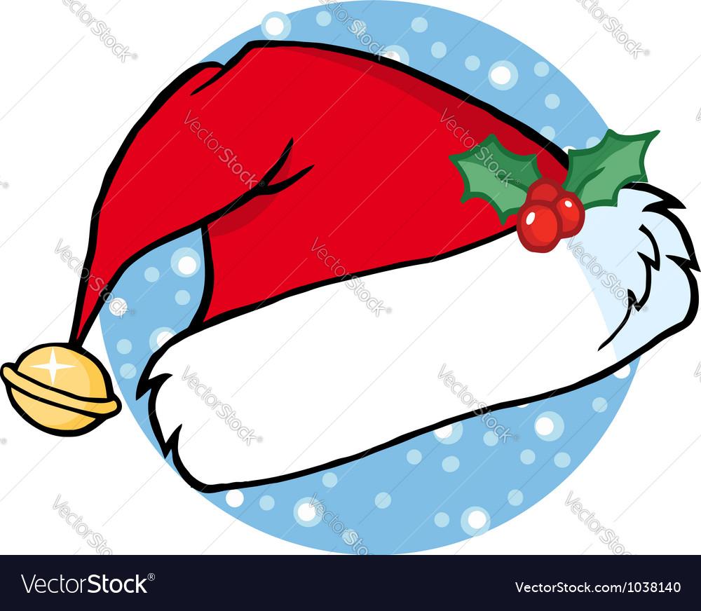 Santas hat vector | Price: 1 Credit (USD $1)