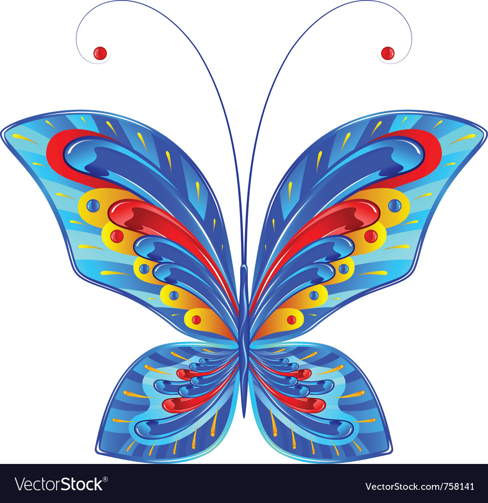 Fabulous butterfly vector | Price: 1 Credit (USD $1)