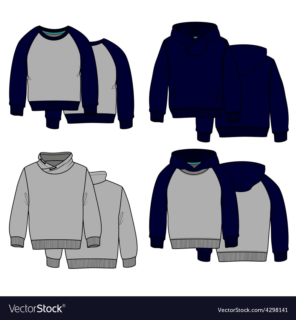 Hoodies color vector | Price: 1 Credit (USD $1)